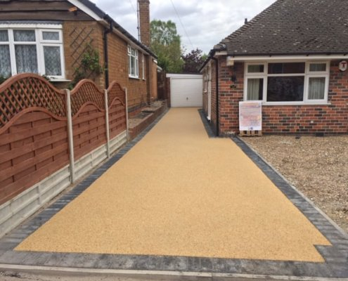 resin driveways Leicester