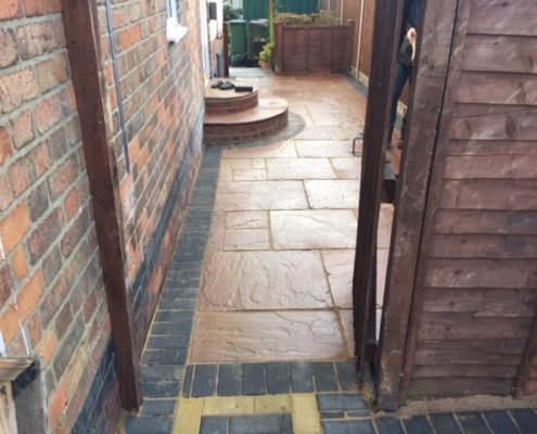 indian sandstone completed in Enderby Leicester